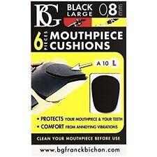 BG Mouthpiece Patch - Black Large Soft 0.8 Mm Thick Aa10l