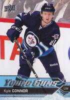 16-17 Upper Deck Kyle Connor Young Guns Rookie Winnipeg Jets RC 2016