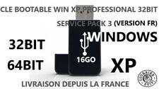 CLE USB BOOTABLE WINDOWS XP PRO HOME EDITION 32BIT FR