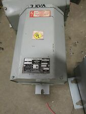 Westinghouse 3 KVA 1 Phase 600x120/240 Volt Transformer- T1023