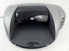 HP Deskjet 5550 Color Inkjet Workgroup Printer Power Cord Software CD Black Ink