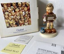 "New ListingGoebel Hummel Figurine ""Art Critic� Der Kunstkritiker First Issue 1991 Hum 318"
