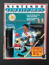 Vintage Nintendo Fun Club News NES newsletter Jun-July 1988 issue 7