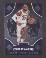 2019/20 Panini Chronicles Crusade LEBRON JAMES Chrome GREAT INVESTMENT - Mint!