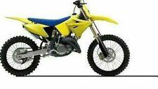 POLISPORT RESTYLE PLASTIC KIT SUZUKI RM125 RM250 2001-2008 yellow