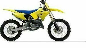 POLISPORT RESTYLE PLASTIC KIT SUZUKI RM125 RM250 2001-2008 yellow  90868