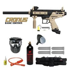 Tippmann Cronus Paintball Marker Gun Marker Basic Tan Starter Package