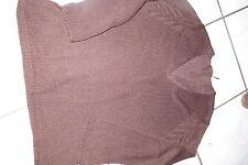 pull brun foncé M&s Mode taille xl 48/50