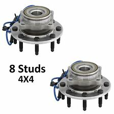 2001 - 2006 GMC Sierra 2500 HD (4WD) Front Wheel Hub Bearing Assembly (4x4) PAIR