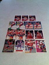 *****John Slaney*****  Lot of 46 cards.....14 DIFFERENT / Hockey