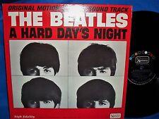 THE BEATLES ~ A HARD DAY'S NIGHT Lp ~ 1st PRESS U/A BLACK LABEL MONO ~ BEAUTIFUL