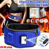 Electric Vibrating Slimming Belt Waist Leg Belly Fat Burning Abdomen Massager PR