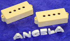 Lindy Fralin Premium Cream Precision P Bass Pickup Cover Set New Covers