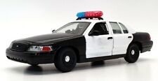 Classic Metal Works 1/24 Scale 1-01886 - Ford Police Car - Black/White