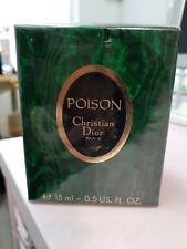Vintage Poison 15 ml Esprit de Parfum Christian Dior Glastop (1000€/100ml)