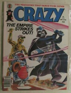 MARVEL PRESENTS - CRAZY MAGAZINE - ISSUE #66 - STAR WARS COVER - 1980