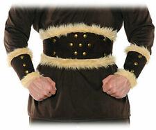 BARBARIAN VIKING THOR CAVEMAN WARRIOR ADULT COSTUME BELT AND WRIST CUFFS SET
