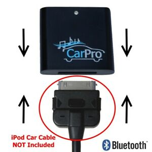 CoolStream CarPro Bluetooth Adapter for 2005-2011 Mercedes with 30 Pin Cable