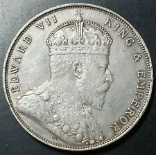 Straits Settlement Singapore One Dollar King Edward VII 1907
