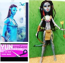 OOAK Doll Custom Neytiri Of Avatar movie ~ Na'vi Handmade Repaint Collector
