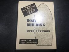 Boat Building with Plywood by Glen L. Witt Ken Hankinson Hardcover Revised 2nd