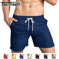 TACVASEN Quick Dry Mens Running Shorts Beach Board Shorts Swim Trunks Gym Pants