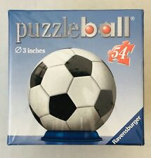 Ravensburger Puzzleball Soccer Ball Sports 3 inches 54 Pieces New