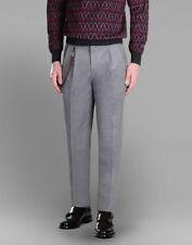 BRIONI Gray Cashmere Blend Jodhpur Trousers Dress Pants Sz 34 US / 50 EU Regular