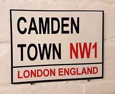 Londres calle signo-Camden Town-Metal Aluminio Signo