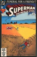 DC Superman Man of Steel 21   Funeral for a Friend