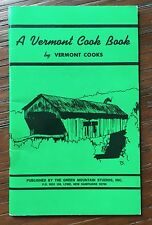 Vintage A Vermont Cookbook By Vermont Cooks Many Maple Syrup Recipes