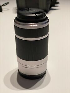 Sony Alpha SEL55210 55-210 mm F/4.5-6.3 E OSS Objektiv (Sony E-Mount), Silber