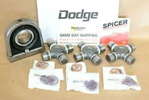 Dodge Ram 2500 3500 1998-2002 Carrier Hanger Bearing And Driveline U Joint Kit