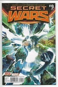 Secret Wars #9 Marvel Comics 2015 VF+