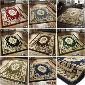 CLASSIC TRADITIONAL SOFT RUNNER ROUND ELEGANT ORIENTAL MEDALLION SALE NEW RUGS