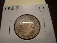 1967 - Canada 25 cent  - Canadian quarter -