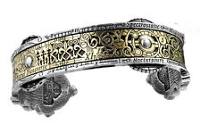 GENUINE Alchemy Gothic Men's Steampunk Bracelet - Spectrostatic Nocturnium