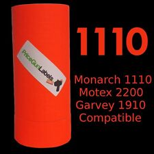 """LABELS """"FL RED"""" FOR MONARCH 1110 1 SLEEVE (16 ROLLS)"""