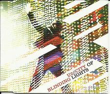 U2 City of Blinding Lights w/ The Fly & even Better LIVE UK CD Single SEALED