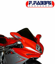 FABBRI ACCESSORI CUPOLINO DOUBLE BUBBLE MV AGUSTA F4 2012/2013 FUME' CHIARO