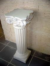 Colonne Corinthienne H:100cm  PILIER Stèle Art DECO . @neuf .platre armé(staff)