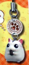 Poyo Poyo Kansatsunikki Poyo Daifuku Hamster Cell Phone Strap Charm NEW