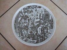 HUTSCHENREUTHER Wandteller WEINLESE um 1700 aus Geschichte des Weinbaus  gut erh