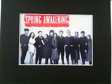 Spring Awakening print copy photo Broadway Jonathan  Groff  Lea Michele + cast