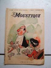 DUPUIS / LE MOUSTIQUE / NUMEROS 1182 /  SEPTEMBRE 1948  /  COUVERTURE FRANQUIN