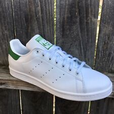Adidas Originals Men's Stan Smith OG Shoes 13 Authentic White Green M20324