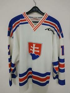 Vintage Rare Slovakia Hockey Jersey ATAK from '90s #12