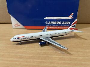 British Airways A321 1:400 (Reg G-EUXD) GJBAW579 Gemini Jets