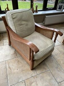 Wooden Frame Armchair