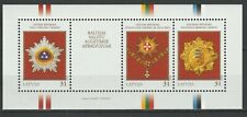 Latvia 2008 Medals and Marks of Honour MNH Block